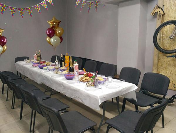 Арендувати приміщення для святкування дня народження, вечірки, корпоративу