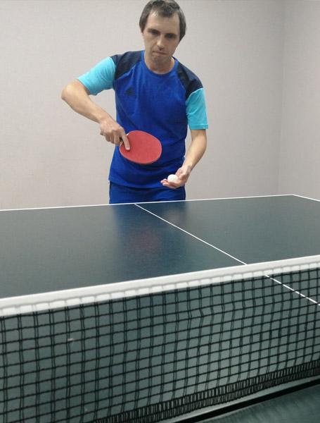 Поиграть в настольный теннис