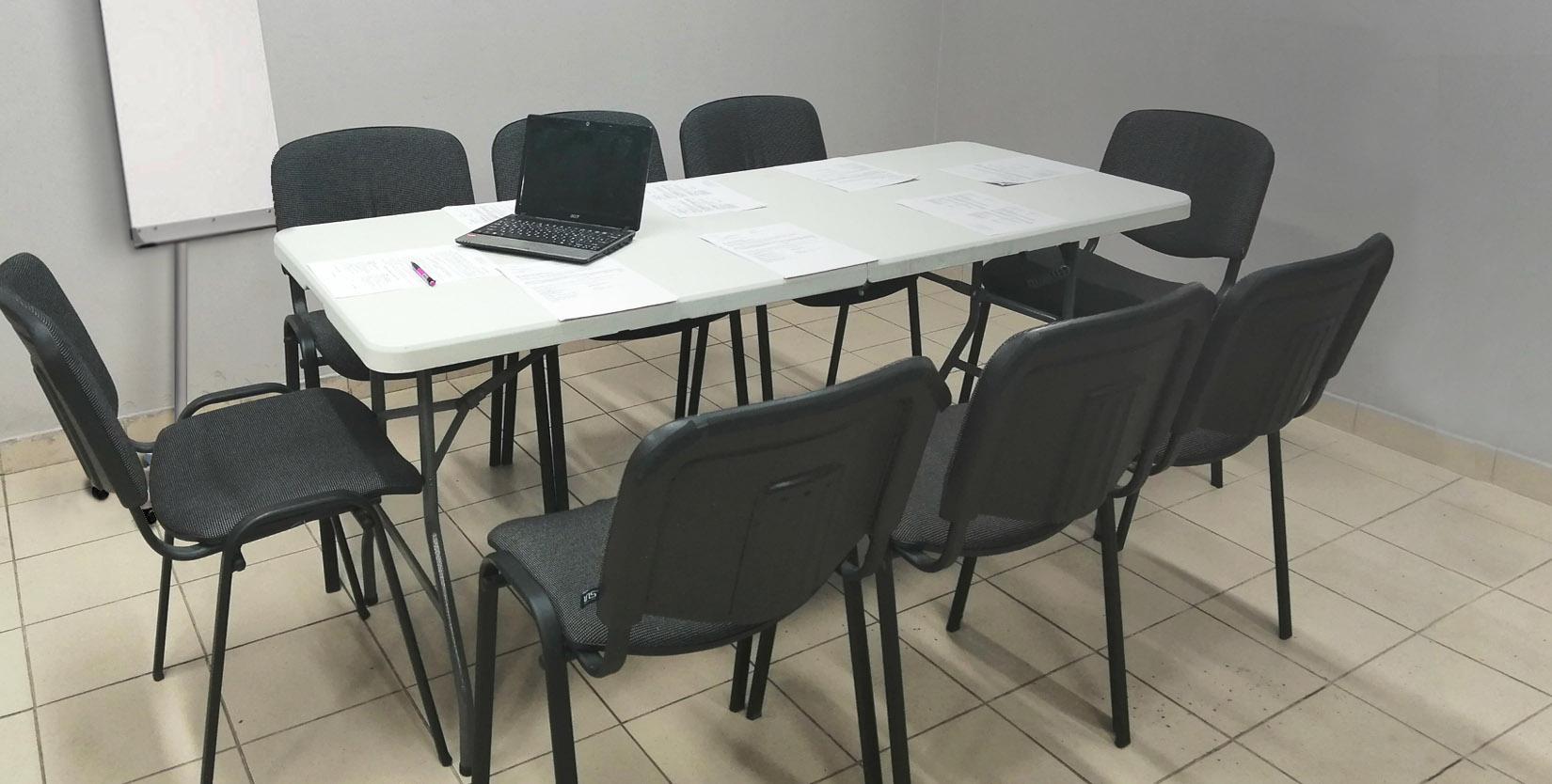 помещение для неформальных деловых встреч